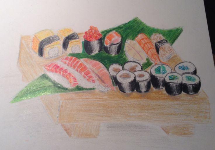 Sushi sashimi is a wonderful thing that makes the fish swim(not)