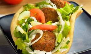 Groupon - Mediterraneanand Greek Food at Dino's Gyros (27% Off). Five Locations Available. in Multiple Locations. Groupon deal price: $22