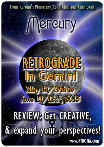 Mercury Retrograde May 2015