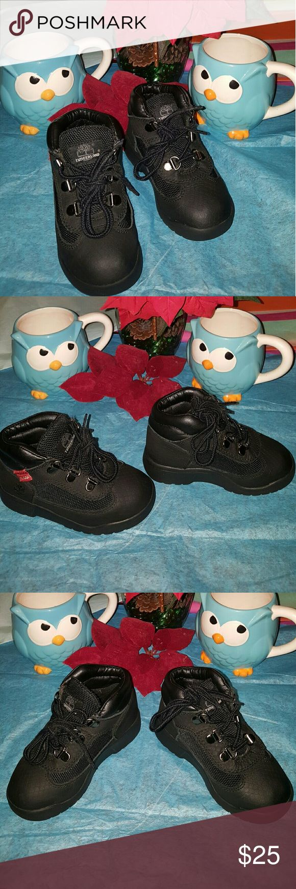 Timberland field boots size 9 toddler boys Worn but in great condition... why not keep dollars in your pocket by shopping smart... Timberland Shoes Boots
