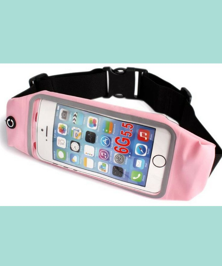 Less expensive version of the phone waist pouch that will fit into my budget | exercise accessory |  affiliate