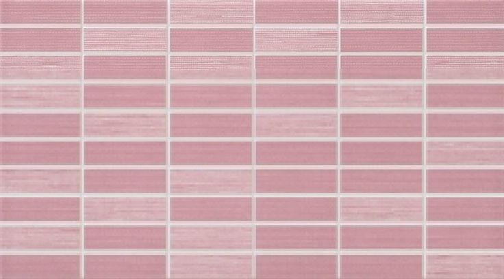 #Dado #Mosaik #Verve Rosa 25x45 cm 301512 | Feinsteinzeug | im Angebot auf #bad39.de 20 Euro/qm | #Mosaik #Bad #Küche