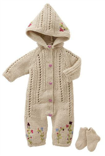 Bergere de France Sleepsuit & Socks Pattern