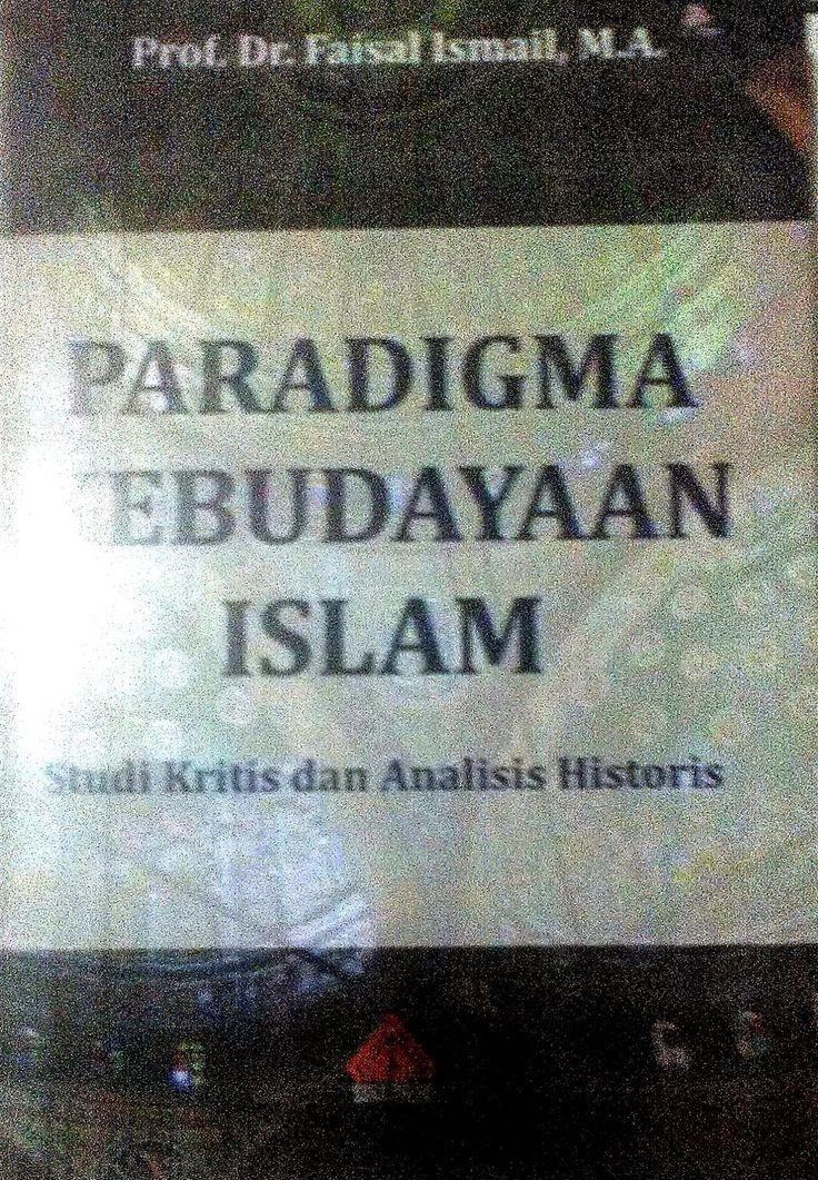 Toko Buku Sang Media : Paradigma Kebudayaan Islam