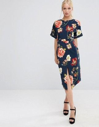 Love this midi dress.