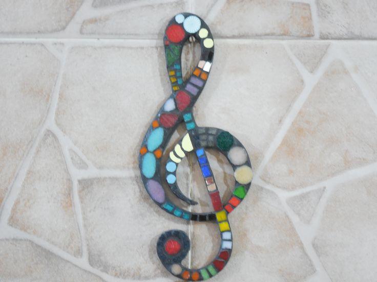 clave de sol - mosaico