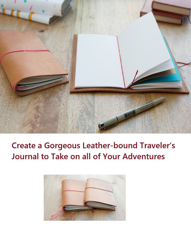 how to write a travel journal
