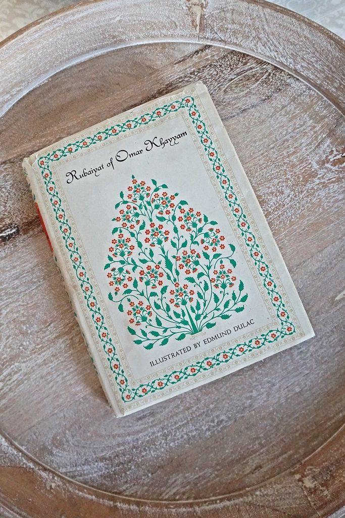 Vintage 1950s Rubaiyat Of Omar Khayyam + Book Of Poems - ClosiTherapi Goods