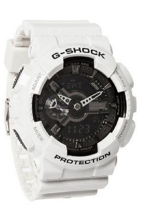 awesome G-Shock GA-110 Garish Trending Series Men's Luxury Watch - White / One Size - For Sale