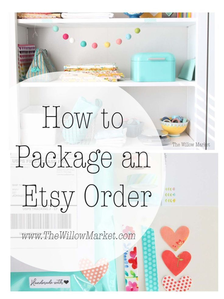 How to Package an Etsy Order