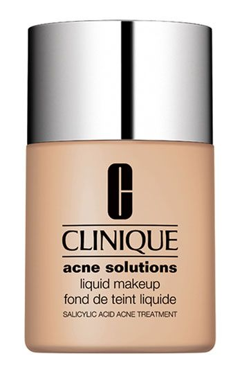 Clinique Acne Solutions Liquid Makeup  Read More: http://www.acneshout.com/best-makeup-for-acne/best-makeup-for-acne/