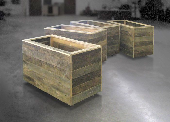 Completely new 28 best Reclaimed wood raised planters images on Pinterest | Herb  IP25