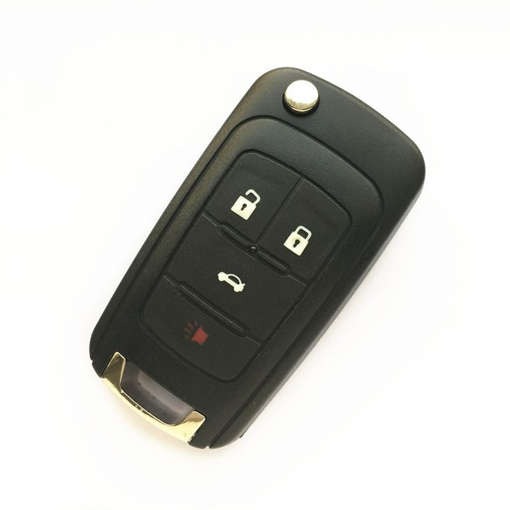 Flip Remote Key Shell Case 4 Buttons for GMC CHEVROLET Malibu Cruze Aveo Car Alarm Housing Keyless Entry Fob Cover #Affiliate