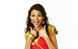 Download Victoria Justice Naughty Girl Wide HD Wallpapers From High Quality Resolution