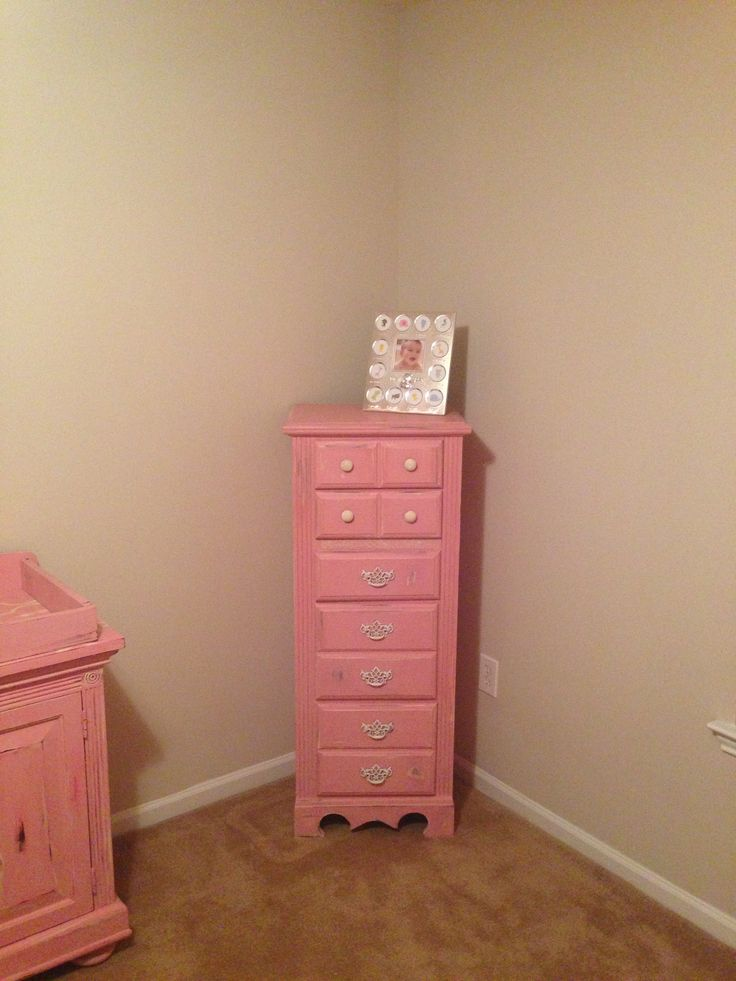 DIY Shabby Chic Baby Furniture. Chalk Paint, Annie Sloan Chalk Paint. I Had
