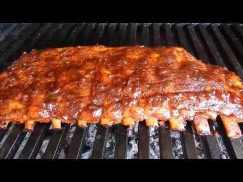 BBQ RIBS, Costillas en Salsa Barbacoa Facil - YouTube