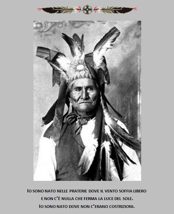4 settembre 1886: A Skeleton Canyon, in Arizona, il grande capo apache Geronimo , dopo quasi 30 anni di lotte, si arrende al Generale Nelson Miles