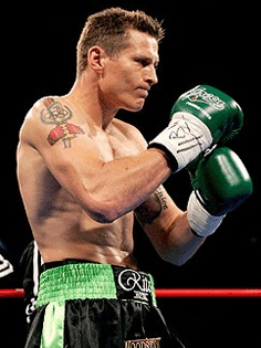 "Danny Green is an Australian professional Light Heavyweight and former Olympian, who is nicknamed ""The Green Machine"". In March 2008 he retired as the WBA light heavyweight world champion, only to announce his return in February 2009. Green attended Newman College in Churchlands, Perth."