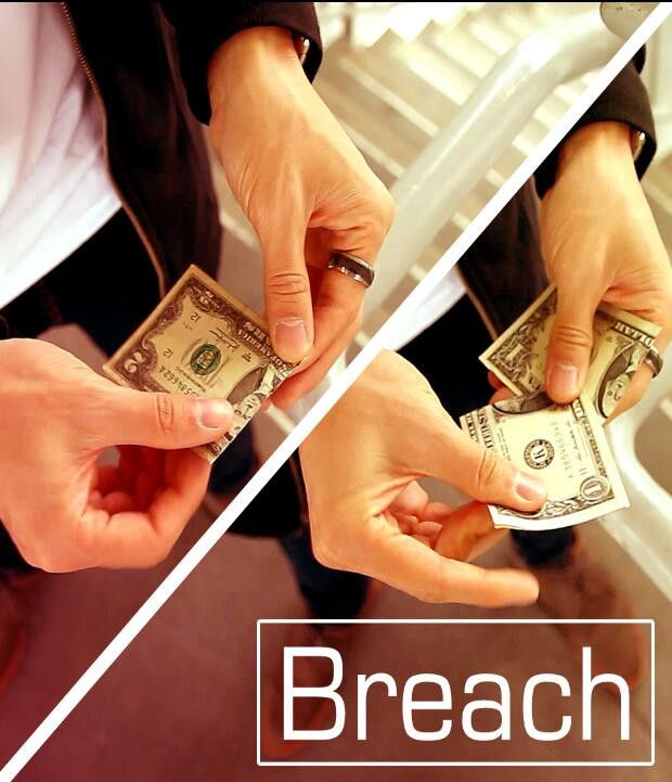 2017 new Breach (Gimmick and Online Instructions) by Patrick K,illusion,Mentalism,close-up,street,magic tricks