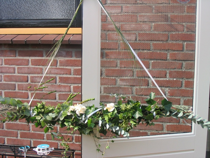 Hanger voor het raam...