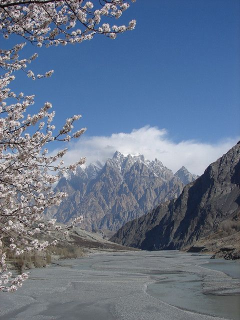 Climbers paradise, Passu Cathedral in Hunza Valley, Pakistan (by Karrar Haidr).