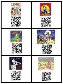 Fall Listening Center Idea & Freebie Friends~I have been working on a little project for my kiddos and I am so excited to share part of it with you. Below you can see my QR Code Listening Center books.