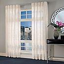 Designer's Select Maximus Sheer 95-Inch Inverted Pleat Window Curtain Panel
