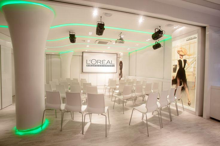 L'Oréal Professionnel Akadémia, Óbuda belsőépítészeti kivitelezés www.deco-design.hu