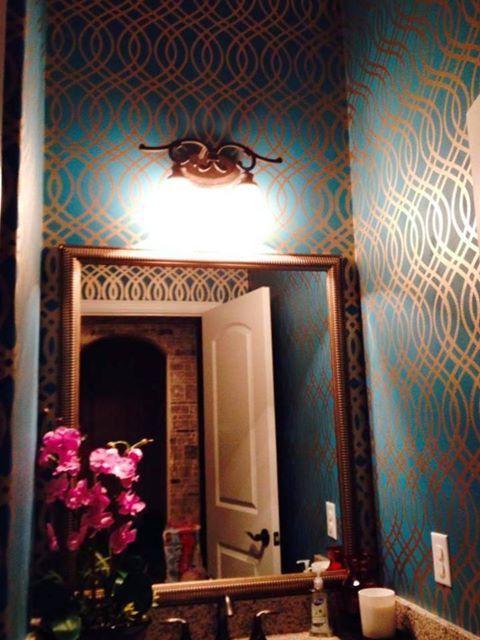 138 best walls. decorative finish. stencils. images on pinterest