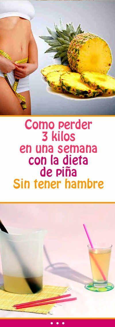 Como perder 3 kilos en una semana con la dieta de piña. Sin tener hambre.#perder #peso #unasemana #dieta #piña #sintenerhambre