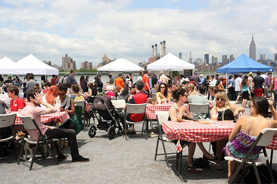 Smorgasburg. THIS is how Brooklyn does a smorgasbord. Skip the brunch wait and follow your nose to the East River State Park for an aromatic international food fair that will tantalize your senses. With 100 vendors set up every Saturday from 11 a.m. to 6 p.m., the only challenge with getting fueled up for the weekend is actually deciding what to eat.