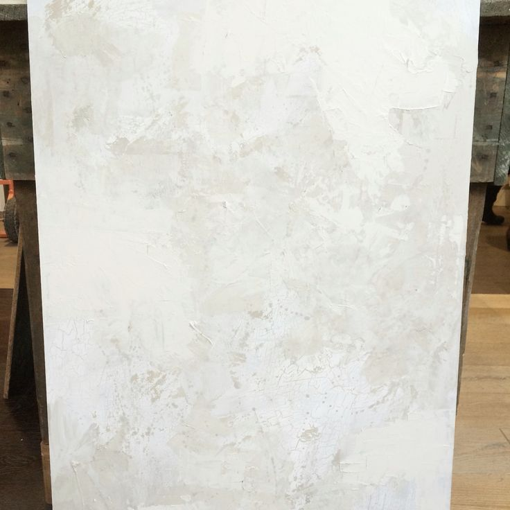 A dreamy study of textures combining Eggshell Acrylic, Crackle Medium and Fresco at Porter's Paints Fitzroy. Bold Whites