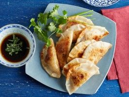 Prawn and Chive Potstickers : Recipes : Ching-He Huang