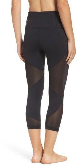 Women's Zella Glam High Waist Crop Leggings