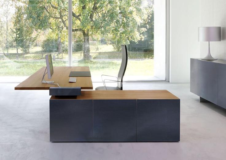 TIX - Solid wood desk
