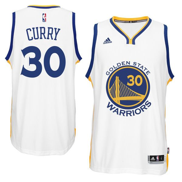 $50   Stephen Curry Golden State Warriors Adidas Youth Jersey - White