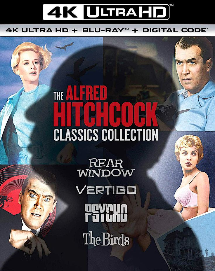 THE ALFRED HITCHCOCK CLASSICS COLLECTION REAR WINDOW
