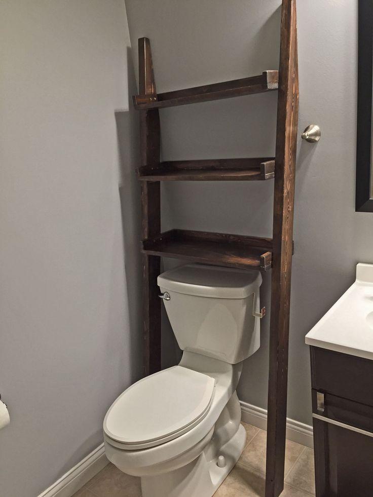 best 25 bathroom ladder shelf ideas on pinterest bathroom essentials ladder storage and. Black Bedroom Furniture Sets. Home Design Ideas