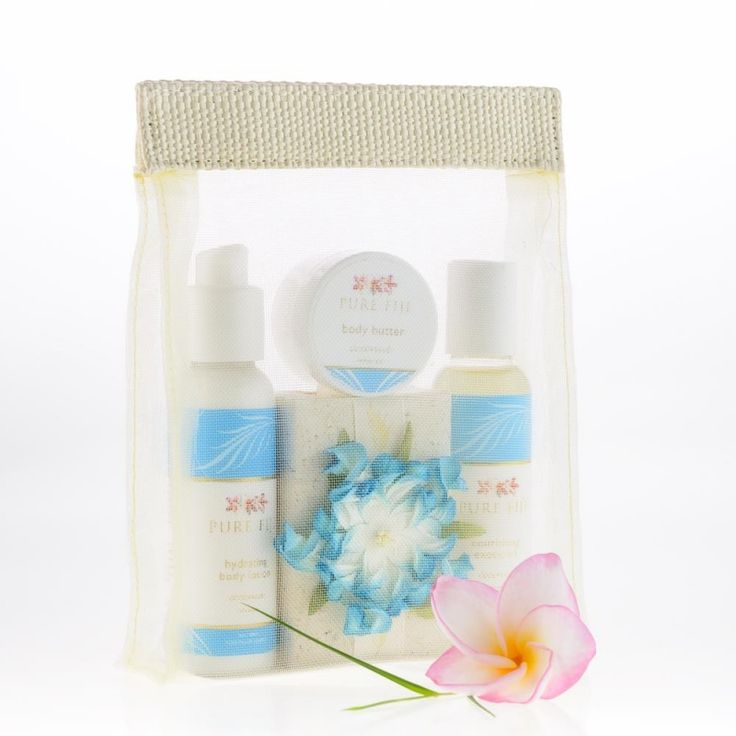 Pure Fiji Eco Discovery | A great starter gift. Includes soap, body lotion, body oil and body butter trial sizes