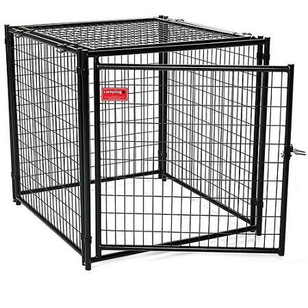 Lucky Dog Heavy Duty Dog Kennel with Predator Top
