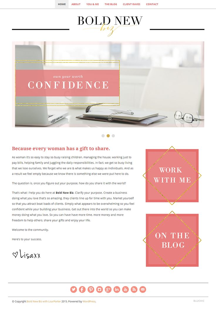38 best web design e grafica images on pinterest website designs empowering women entrepreneurs to get clarity get confidence and get paid based on jacqueline solutioingenieria Images