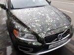 оклейка пленкой камуфляж Volvo XC70 Camouflage Wrap