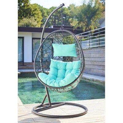 Les 25 meilleures id es de la cat gorie fauteuil de jardin suspendu sur pinterest fauteuil for Fauteuil de jardin gifi