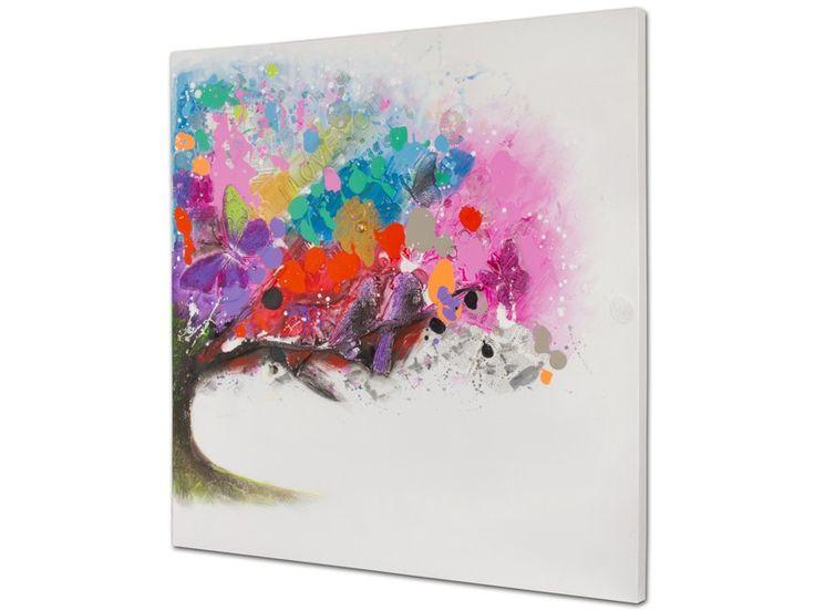 Mejores 57 im genes de cuadros decorativos en pinterest - Cuadros colores vivos ...