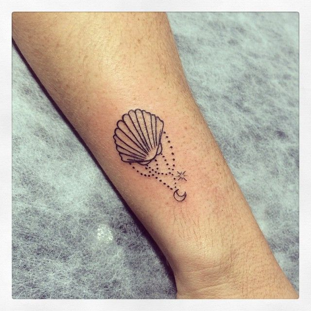 #tattoo #shell #tatuagem #ink #tattooed #binghatattoo @mariana.falcao