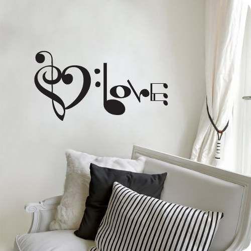 Decoracion De Cuarto Con Notas Musicales Bedroom Pinterest