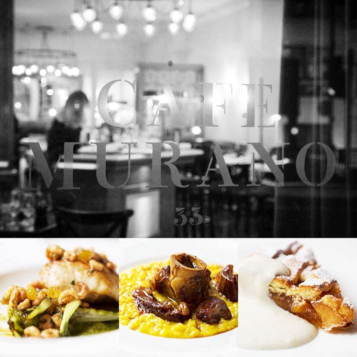 1 star - Restaurant Murano Cafè - London #italianfood #italianchef #italianrestaurant www.100ITA.com
