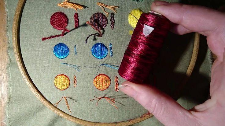 Embroidery Basics 4 - Threads Beginner Craft Jitsu. What Thread Should I...