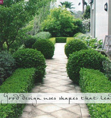 Love this diamond paving which leads your eye along the walk via simply natural decor