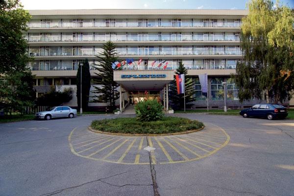 Slovakia, Piešťany - The new architecture in the bath